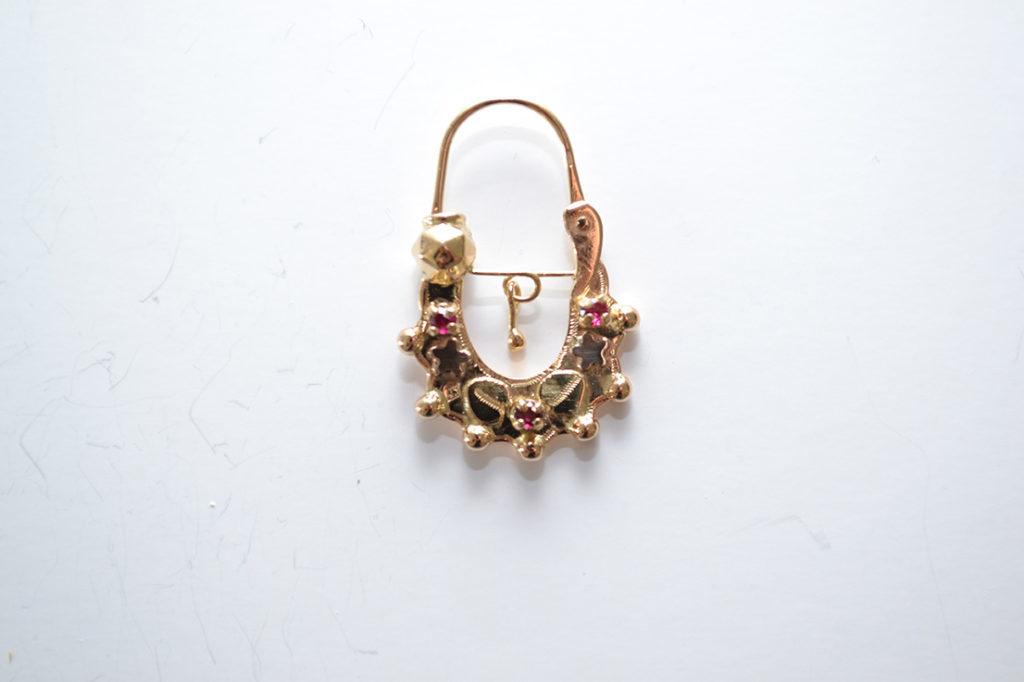 acheter populaire 2a219 ab23c Boucles d'oreilles savoyardes en or modèle 7