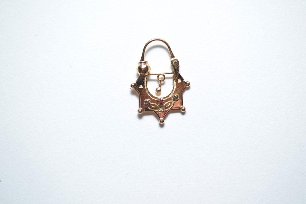 plus récent 134a6 798cf Boucles d'oreilles savoyardes en or modèle 12 | Bijouterie ...