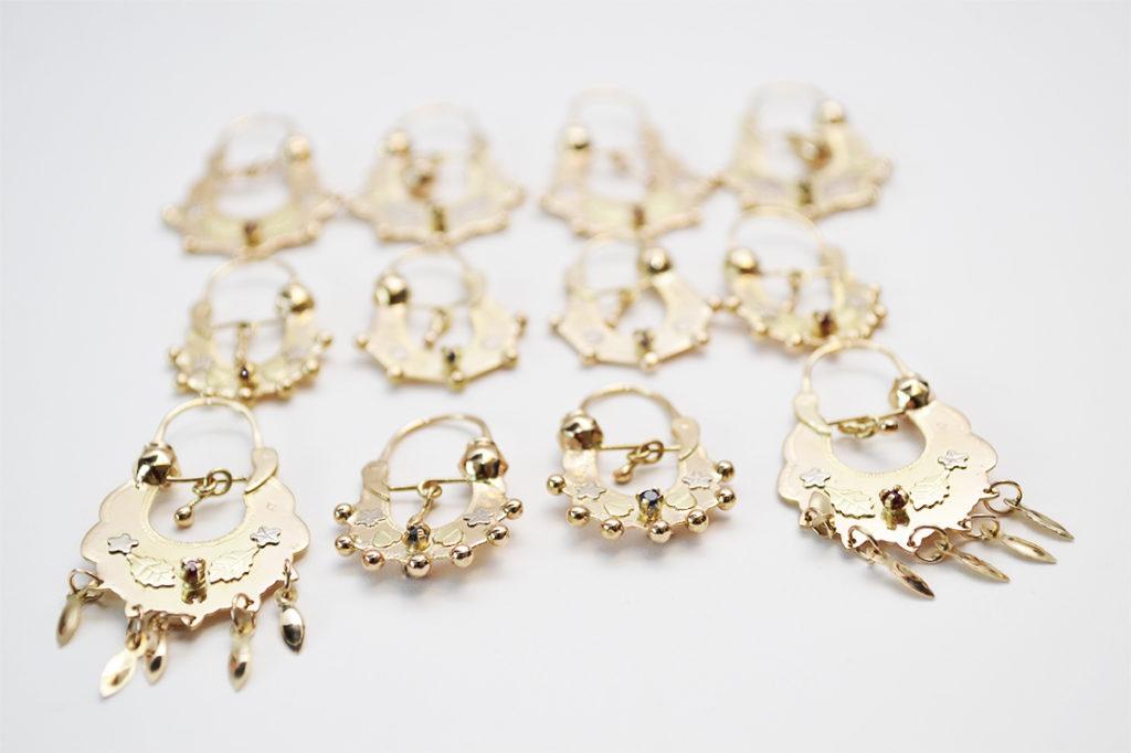 nouvelle arrivee 17fe0 d34aa Boucles d'oreilles savoyardes en or 18 carats